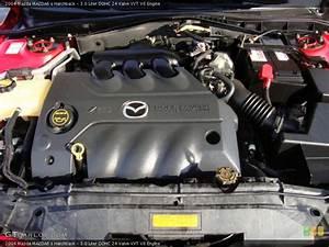3 0 Liter Dohc 24 Valve Vvt V6 Engine For The 2004 Mazda