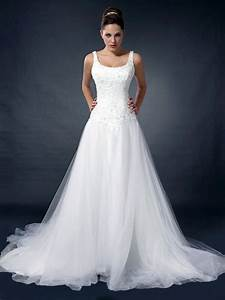 a line with pure white scoop neckline wedding dress ah With scoop neckline wedding dress