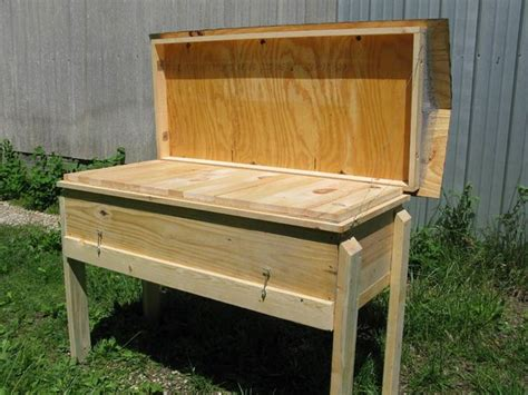 langstroth hive ideas  pinterest bee hive