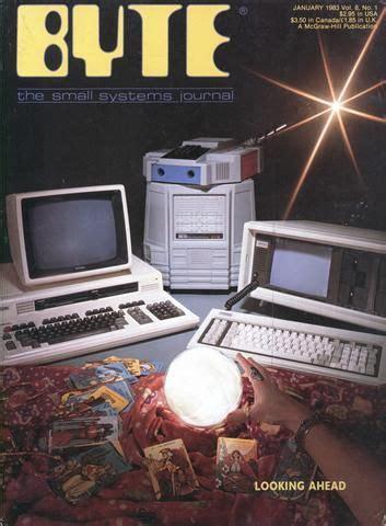 byte magazine st published vintage robots