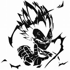 Dbz Dragon Ball Z Super Saiyan Vegeta Decal Sticker