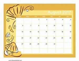august 2017 calendar template weekly calendar template With calendar templats