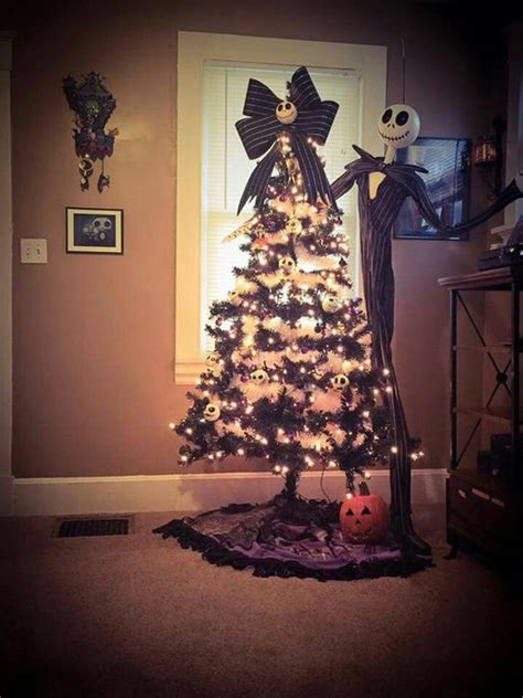 black christmas tree  gothic style home design