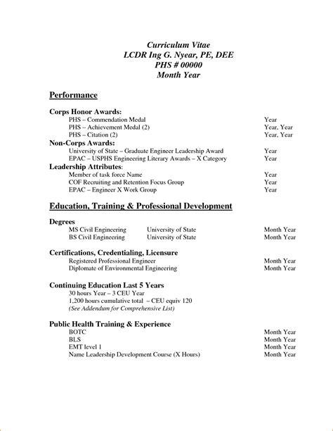 sample curriculum vitae  job application  basic