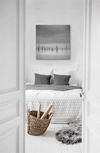 Tableau Deco Noir Et Blanc : du blanc pour illuminer mon int rieur blog izoa ~ Melissatoandfro.com Idées de Décoration
