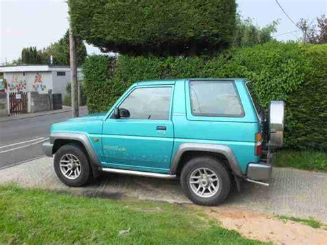 Daihatsu 1997 Sportrak Limited Green. Car For Sale
