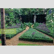 Gap Gardens  Formal Herb Garden Parterre With Low Buxus