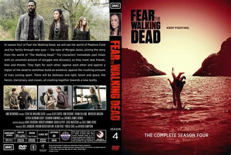 fear  walking dead  season  dvd custom cover