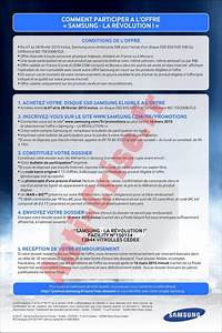 Offre De Remboursement : offre de remboursement odr samsung 50 sur disque ssd ~ Carolinahurricanesstore.com Idées de Décoration