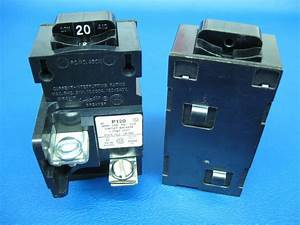 Pushmatic Bulldog Ite 20 Amp Single Pole P120 Breaker