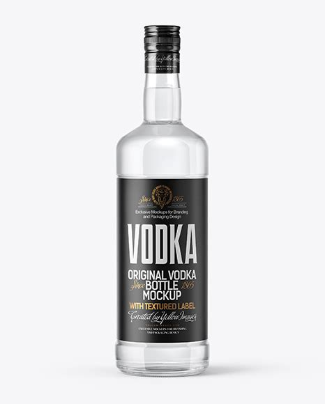 This free psd mockup has a very clear structure and can be customized in adobe photoshop. Clear Glass Vodka Bottle Mockup in Bottle Mockups on ...