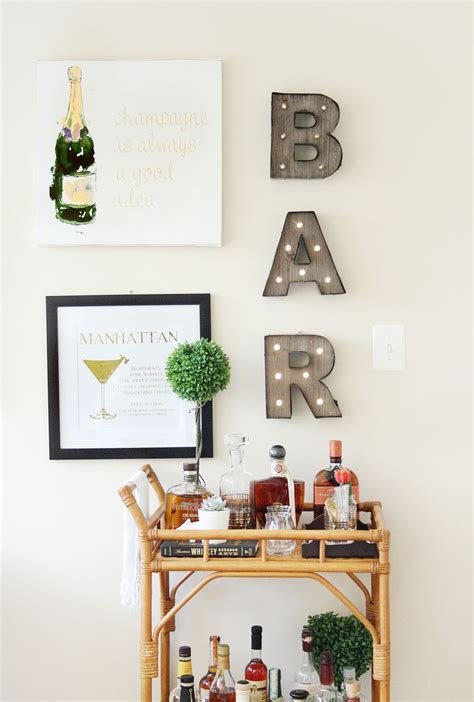 Home Bar Decor by Home Bar Decor Turn Your Boring Living Room Corner Around