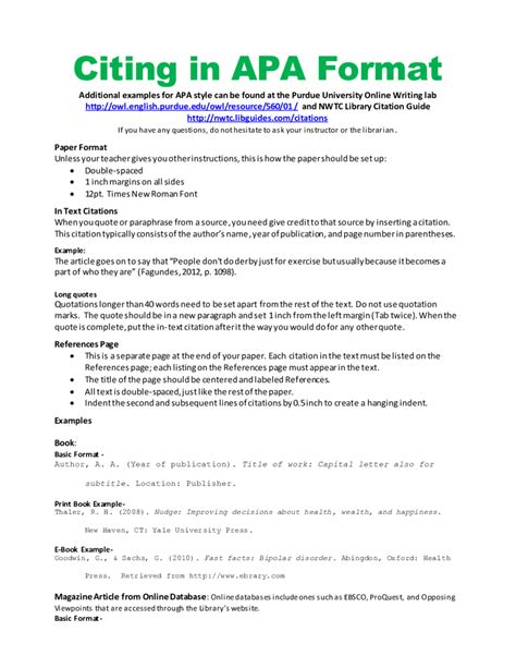 Format Your Essay Apa Style by Book Report Title Page Format Apa Style Italics Pics