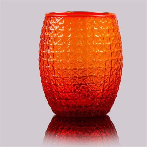 bicchieri da bicchieri da acqua set 6 pezzi in pasta di vetro fedra
