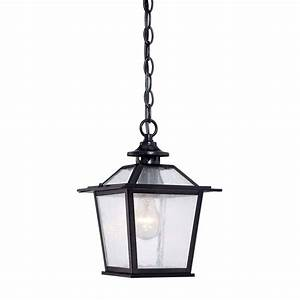 Acclaim, Lighting, Salem, Collection, 1-light, Matte, Black, Outdoor, Hanging, Ceiling, Light-9706bk