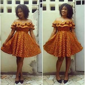 petite robe pagne wax chic le pagne en vogue pinterest With jolie robe de soirée