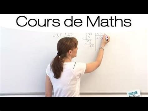 faire une virée à deux maths faciles comment faire une division 224 virgules