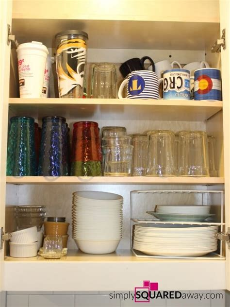 how do i organize my kitchen home tour how i organize my kitchen dishes simply 8433