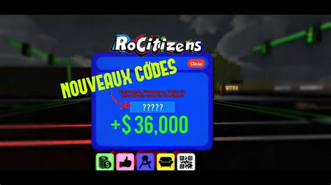 roblox rocitizens tout les codes qui marches youtube