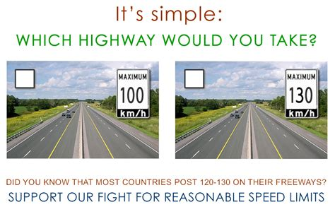 Increase Ontario 400-series Highway Speed Limit