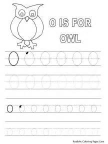 Printable Tracing Letter O
