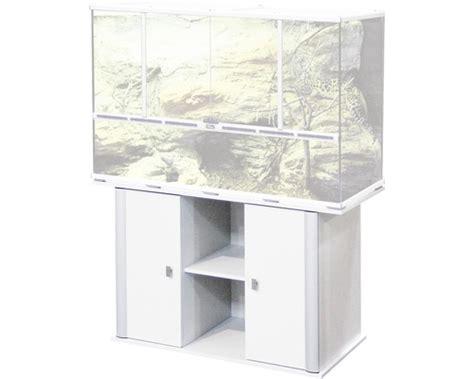 sous meuble pour terrarium 118 x 45 x 70 cm gris clair