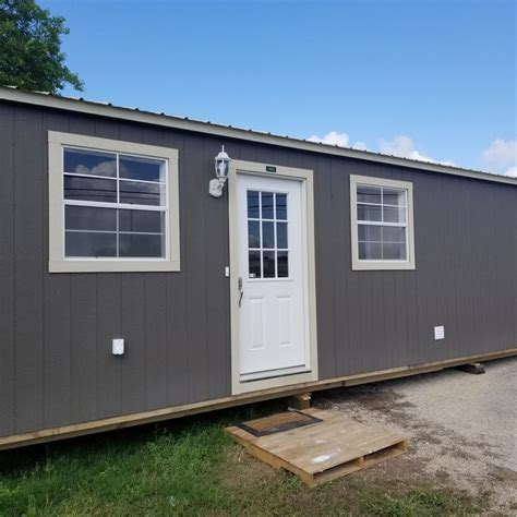 tiny house listing brand new 12x32 cabin cabin for sale in kerrville