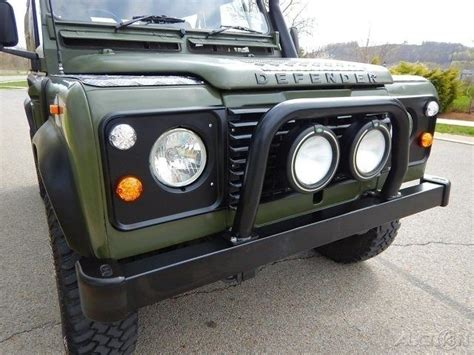 land rover defender convertible 1990 land rover defender 90 convertible restored for sale