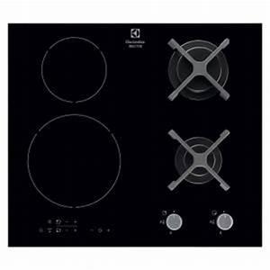 table cuisson mixte gaz induction achat vente table cuisson mixte gaz induction pas cher - Cuisiner Au Gaz Ou L Lectricit