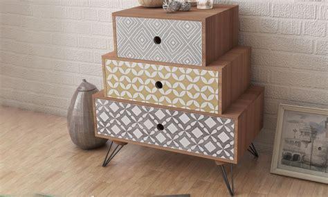 prix chambre a air table de chevet à 3 tiroirs groupon