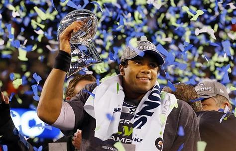 Russell Wilson Seahawks Crush Broncos 43 8 To Win Super