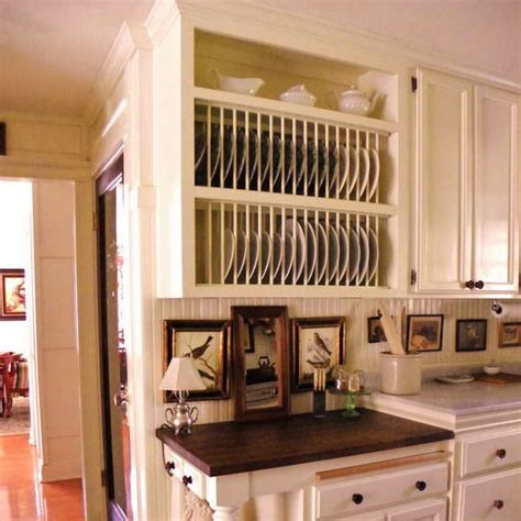 plate rack kitchen cabinet bloombety wood plate rack cabinet with white wood plate