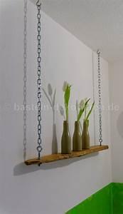 Regal Unter Der Decke : bastelanleitung zu h ngeregal aus schwemmholz und ketten basteln und dekorieren ~ Sanjose-hotels-ca.com Haus und Dekorationen