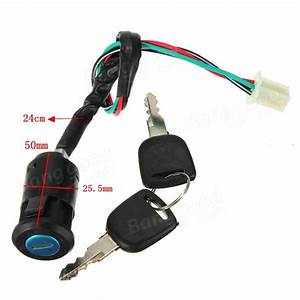 Ignition Switch Key For Motorcycle Atvs Dirt Bike 50cc
