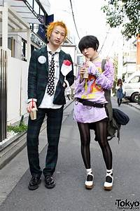 666 Retro Punk Japanese Street Style In Harajuku
