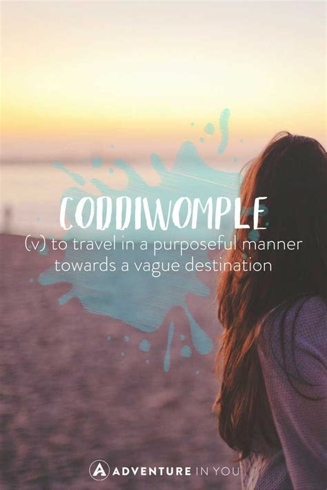 unusual travel words  beautiful meanings