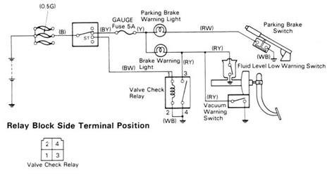 Brake Warning Light Switch Diagram by Park Brake Light Ih8mud Forum