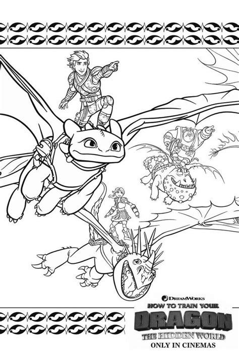 simple   train  dragon coloring pages