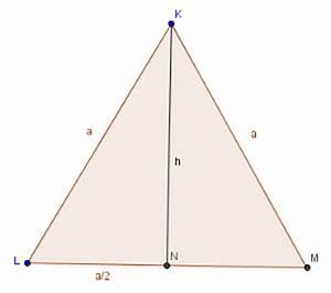 Gleichseitiges Dreieck Berechnen : 1112 unterricht mathematik 8e satz des pythagoras ~ Themetempest.com Abrechnung