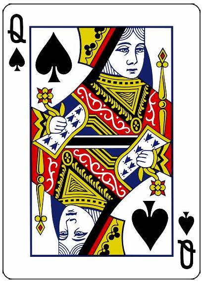 Queen Playing Card Cards Vector Svg Poker