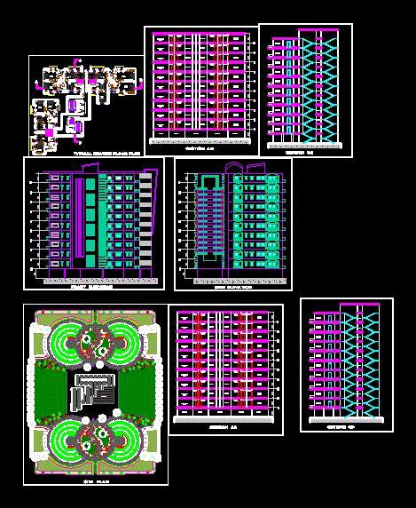 Appartamento Dwg by Apartamento En Autocad Descargar Cad Gratis 1 31 Mb