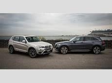 MercedesBenz GLC v BMW X3 Comparison Review