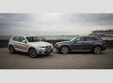 MercedesBenz GLC v BMW X3 Comparison Review