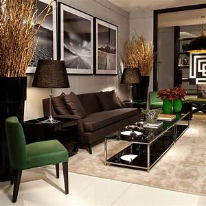 Ambientes Sofisticados Com Estilo Contempor U00e2neo E Cl U00e1ssico Decorados Por Christina Hamoui  Em
