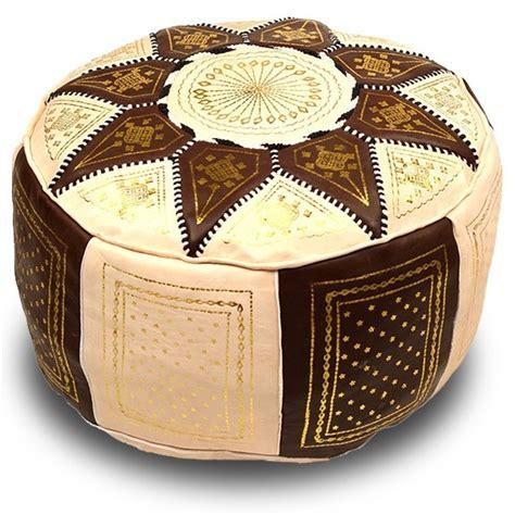 moroccan leather pouf pouf marocain poufs marocains en cuir marokech com