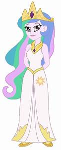 Equestria Girls: Princess Celestia by CruellaDeVil84 ...