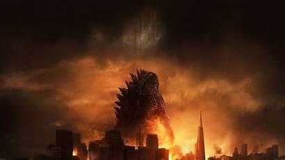 Godzilla Poster Film Desktop Ad27 3840 2160