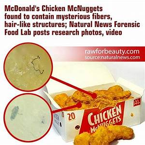 """Chicken"" McNuggets Under Microscope Reveal Real ..."