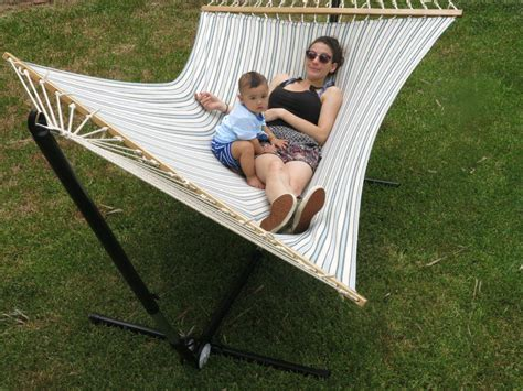 Free Standing Hammock by X Large Free Standing Hammock Blue And White Canvas
