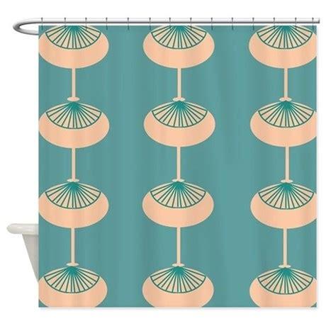 mid century modern shower curtain mid century modern ovals shower curtain by admin cp11157433